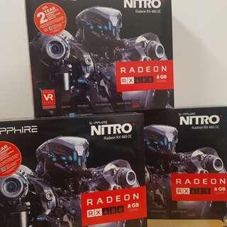 Sapphire nitro + rx 480 8gb