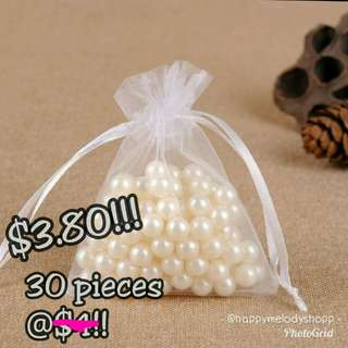 Last stock 30 pieces @$3.80 mailed !! Small Mesh drawstring bag!!
