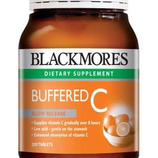 Blackmores Buffered C Slow Release 200s