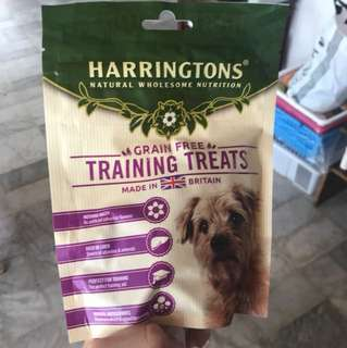 Unopened dog treats from england