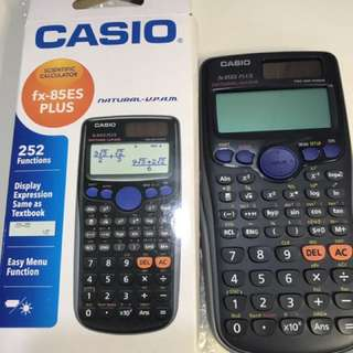 FX-85ES Plus Casio scientific calculator