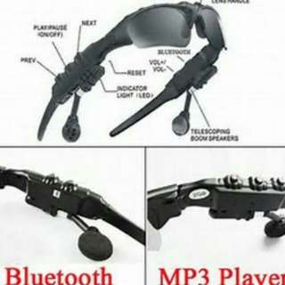 Bluetooth glasses. (Stereo set) Clearity