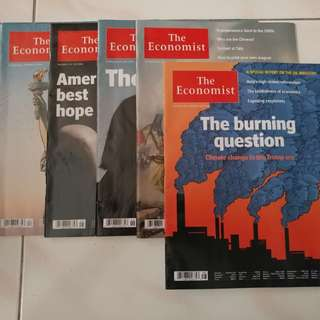 The Economist Magazine (Year 2016)
