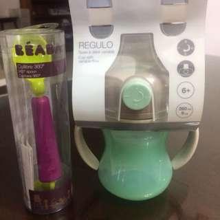 Beaba Regulo & 360 degrees spoon(sets)