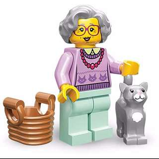 Lego Grandma Grandmother Series 11 71002
