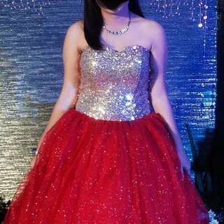GOWN FOR RENT (ball gown)
