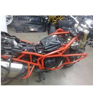 Motorbike Spray Detailing - Chassis_Engine bay_Body Kits_ SAME / CHANGE COLOR