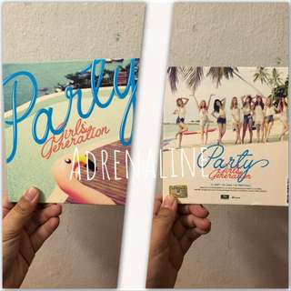 Girls Generation Party Mini Album