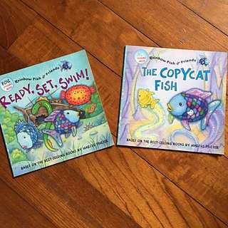 Rainbow Fish Paperback stories x2