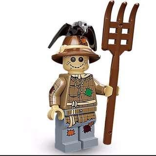Lego Scarecrow Series 11 Minifigures 71002 crow farm farmer
