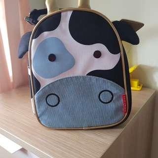 Skip Hop Zoo Lunchie Insulated Kids Lunch Bag - Cow