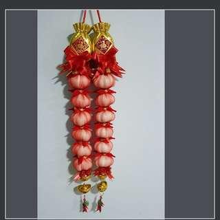 Cny Garlic decoration
