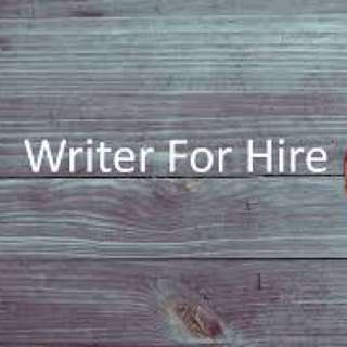 WRITER - HIRE ME!