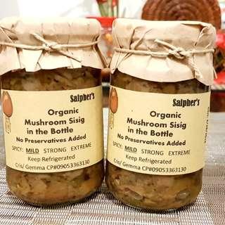Mushroom Sisig in the Bottle