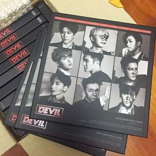 Super Junior Devil(+/-厲旭小卡)