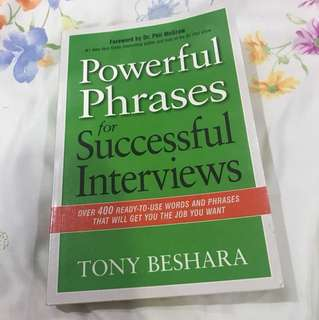 For successful interviews