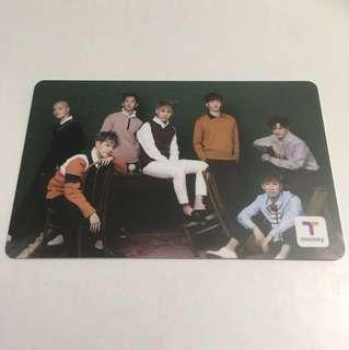 🇰🇷南韓組合BTOB特別版T-money Card