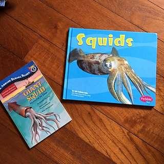 Squid Books x2
