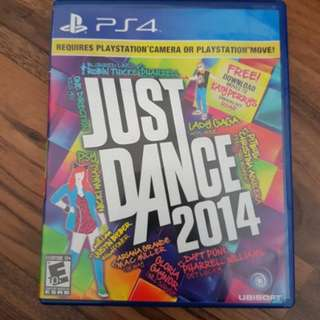 Playstation 4 Just Dance 2014 Game