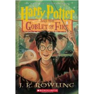 J.K. Rowling - Harry Potter And The Goblet Of Fire *Ebook*