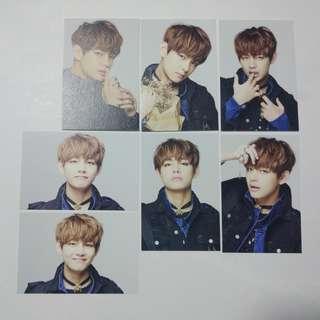BTS Taehyung Epilogue Mini Photocard Set