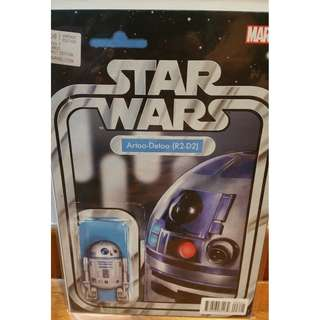 Star Wars #6 Christopher Action Figure Variant  R2D2 Marvel 2017