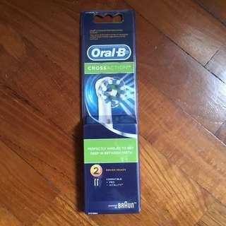 Oral-B CrossAction Electric Toothbrush Brush Head