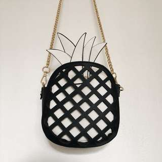 Zara pineapple bag