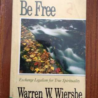 Be Free's Warren W. Wiersbe