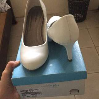 Payless white shoes used once