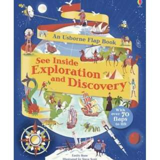 [Brand New] See inside : Exploration and Discovery   By: Emily Bone, Steve Scott (Illustrator)
