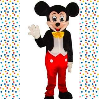 Mickey Mouse Mascot Rental