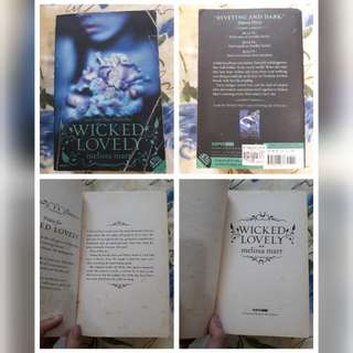 Wicked Lovely Series by Melissa Marr Complete Set