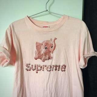 Supreme pink elephant T-shirt