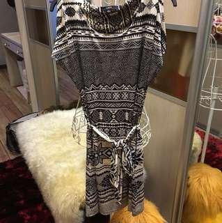 Include postage cold shoulder dress