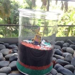 Payw minion terrarium! 2 weeks old!