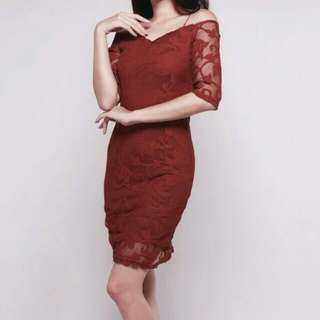 SALE!!!! Import Red Premium Dress