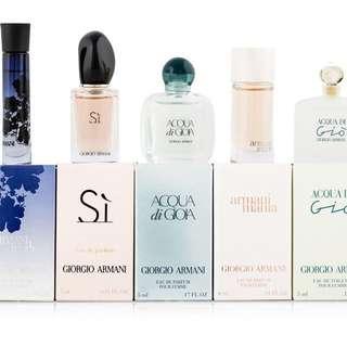 Giorgio Armani Variety 5 Piece Mini Gift Set for Women