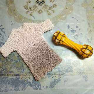 Dog clothes and toy