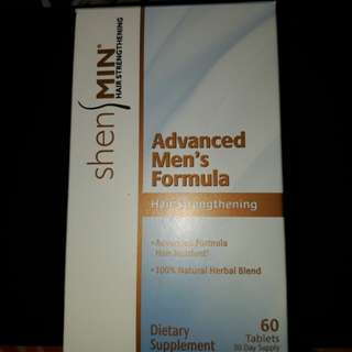 Advanced Men's Formula Hair Strengthening