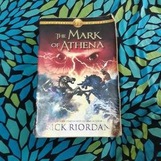 Mark of Athena written by Rick Riordan
