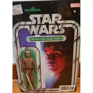 Star Wars #31 Christopher Action Figure Variant Luke Skywalker: Bespin Fatigues Marvel Comics