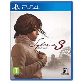 (Brand New Sealed) PS4 Game Syberia 3.