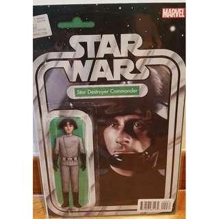 Star Wars #9 Christopher Action Figure Variant Star Destroyer Commander Marvel Comics