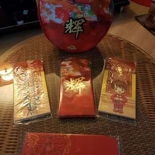 Ang Pow bag include 5 designs of red packet