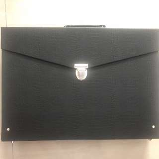 New leather hard case wider size