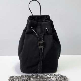 Gucci Black Bucket Bag