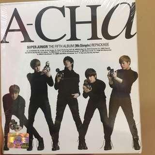 Super junior A-CHA 專輯repackage