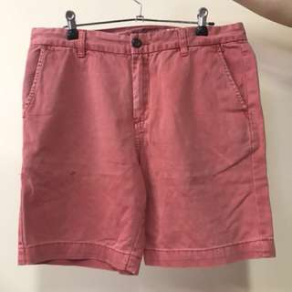 Red Shorts - Size 32