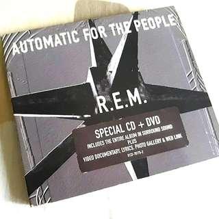 R.E.M. CD + DVD (Audiophile)